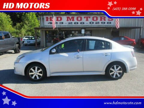 2012 Nissan Sentra for sale at HD MOTORS in Kingsport TN