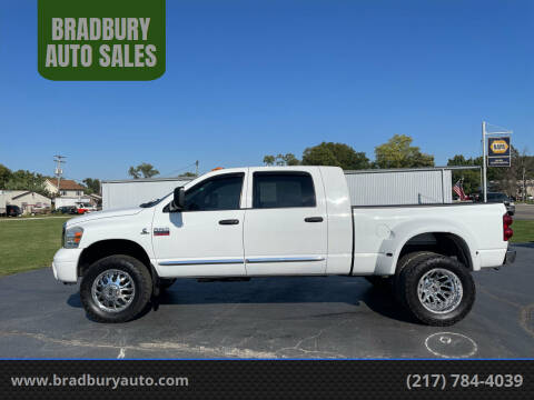 2008 Dodge Ram Pickup 3500 for sale at BRADBURY AUTO SALES in Gibson City IL