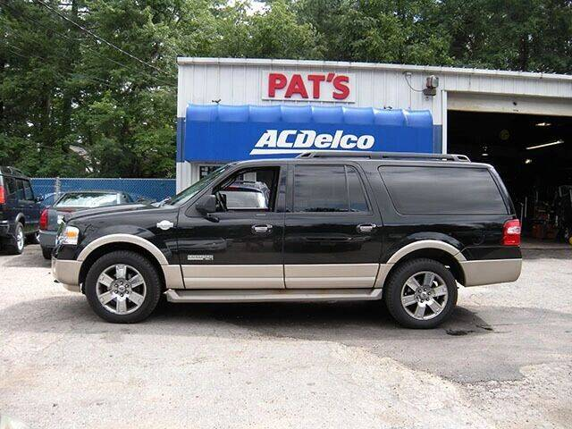 2008 Ford Expedition EL for sale at Route 107 Auto Sales LLC in Seabrook NH