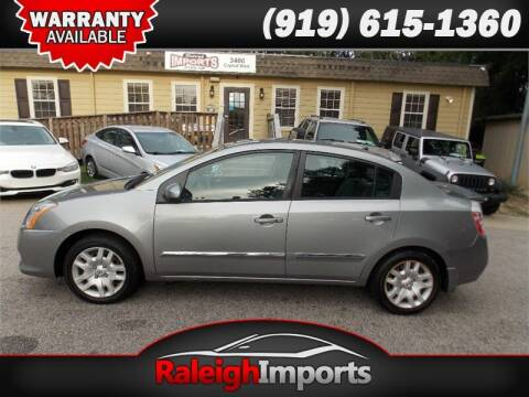 2011 Nissan Sentra for sale at Raleigh Imports in Raleigh NC