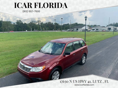 2010 Subaru Forester for sale at ICar Florida in Lutz FL
