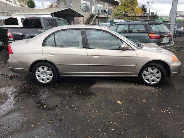 2001 Honda Civic EX 4dr Sedan - Portland OR