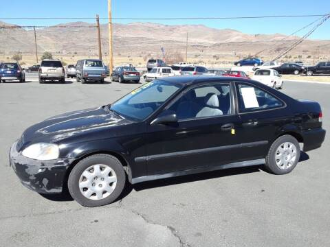 2000 Honda Civic for sale at Super Sport Motors LLC in Carson City NV