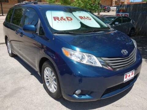 2012 Toyota Sienna for sale at R & D Motors in Austin TX