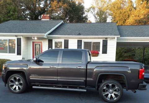 2015 GMC Sierra 1500 for sale at SIGNATURES AUTOMOTIVE GROUP LLC in Spartanburg SC