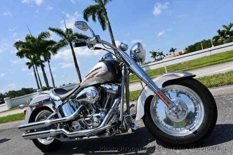 2005 Harley-Davidson FATBOY CVO for sale at MOTORCARS in West Palm Beach FL
