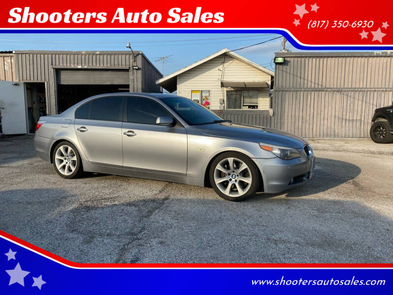 2006 BMW 5 Series for sale at Shooters Auto Sales in Fort Worth TX