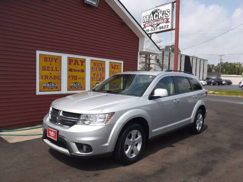 2011 Dodge Journey for sale at Mack's Autoworld in Toledo OH