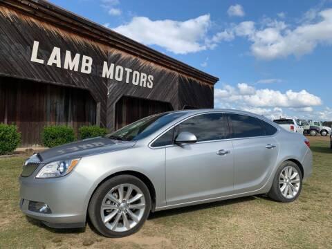 2016 Buick Verano for sale at LAMB MOTORS INC in Hamilton AL