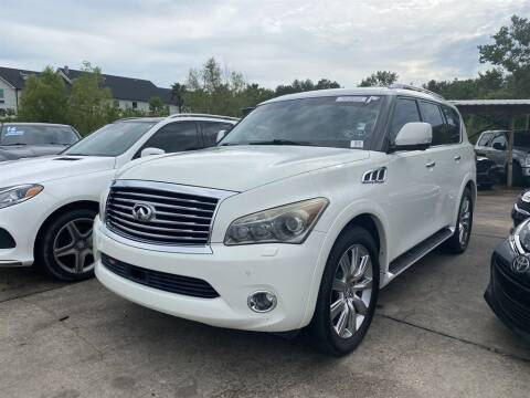 2012 Infiniti QX56 for sale at Direct Auto in D'Iberville MS