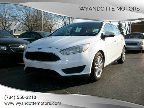 2015 Ford Focus for sale at Wyandotte Motors in Wyandotte MI