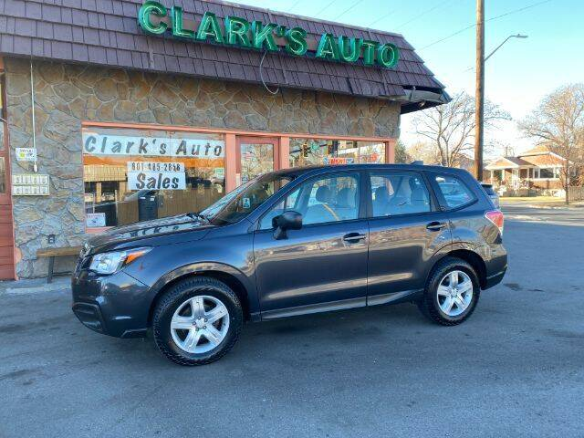 2017 Subaru Forester for sale at Clarks Auto Sales in Salt Lake City UT