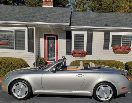 2002 Lexus SC 430 for sale at SIGNATURES AUTOMOTIVE GROUP LLC in Spartanburg SC