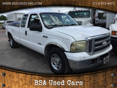 2006 Ford F-250 Super Duty for sale at BSA Used Cars in Pasadena TX