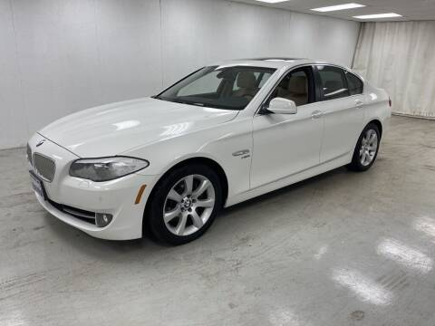 2011 BMW 5 Series for sale at Kerns Ford Lincoln in Celina OH