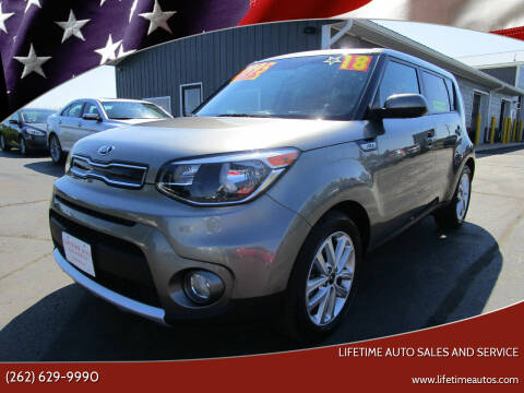 2018 Kia Soul for sale at Lifetime Auto Sales and Service in West Bend WI