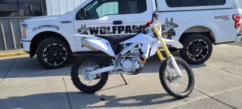 2020 SSR 450 for sale at WolfPack PowerSports in Moses Lake WA