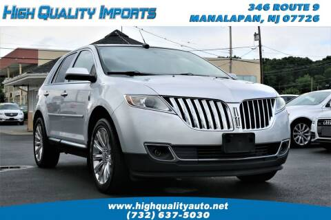 2011 Lincoln MKX for sale at High Quality Imports in Manalapan NJ