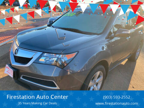 2011 Acura MDX for sale at Firestation Auto Center in Tyler TX