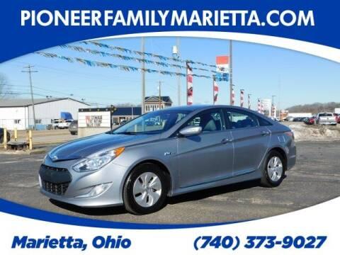 2014 Hyundai Sonata Hybrid for sale at Pioneer Family auto in Marietta OH