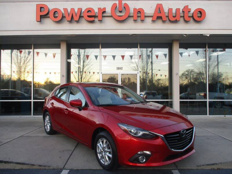 2015 Mazda MAZDA3 for sale at Power On Auto LLC in Monroe NC