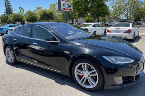2016 Tesla Model S for sale at MISSION AUTOS in Hayward CA