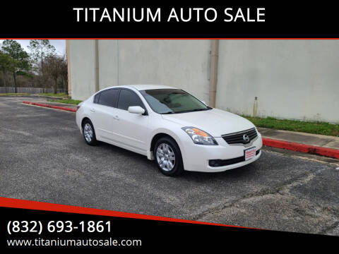 2009 Nissan Altima for sale at TITANIUM AUTO SALE in Houston TX