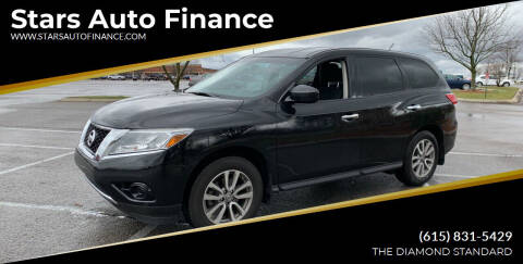 2014 Nissan Pathfinder for sale at Stars Auto Finance in Nashville TN