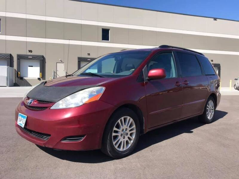 2008 Toyota Sienna for sale at Angies Auto Sales LLC in Newport MN