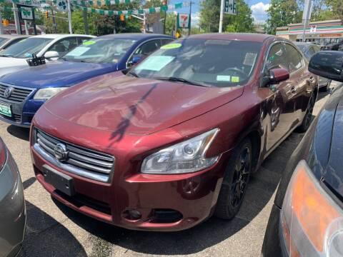 2013 Nissan Maxima for sale at Park Avenue Auto Lot Inc in Linden NJ
