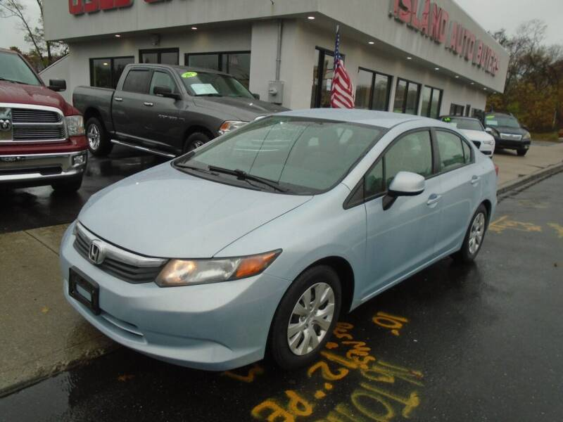 2012 Honda Civic for sale at Island Auto Buyers in West Babylon NY