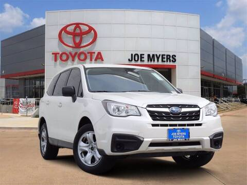 2018 Subaru Forester for sale at Joe Myers Toyota PreOwned in Houston TX