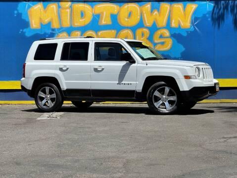 2016 Jeep Patriot for sale at Midtown Motors in San Jose CA