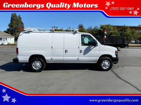 2011 Ford E-Series Cargo for sale at Greenbergs Quality Motors in Napa CA
