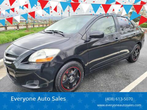 2008 Toyota Yaris for sale at Everyone Auto Sales in Santa Clara CA
