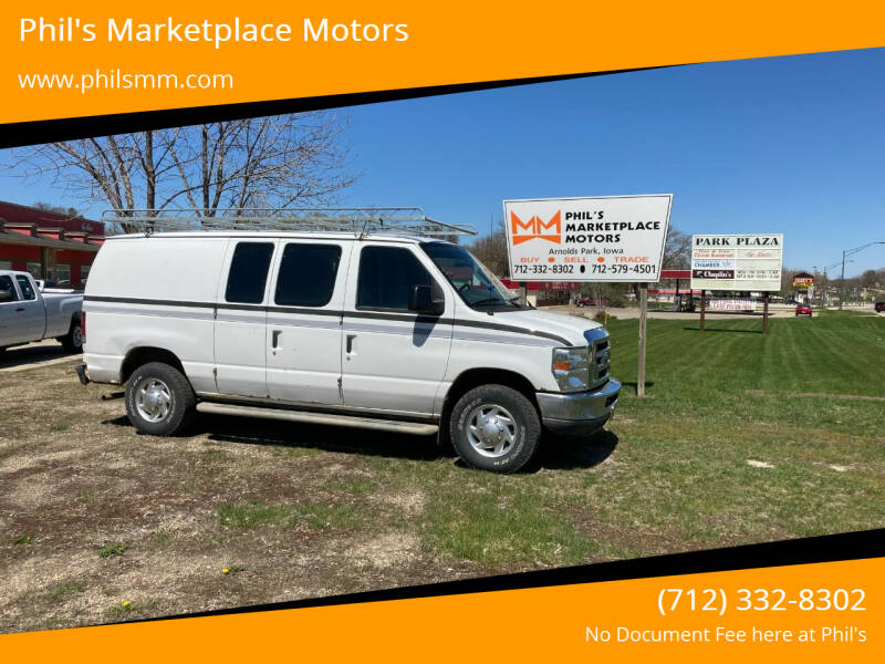 2010 Ford E-Series Cargo for sale at Phil's Marketplace Motors in Arnolds Park IA
