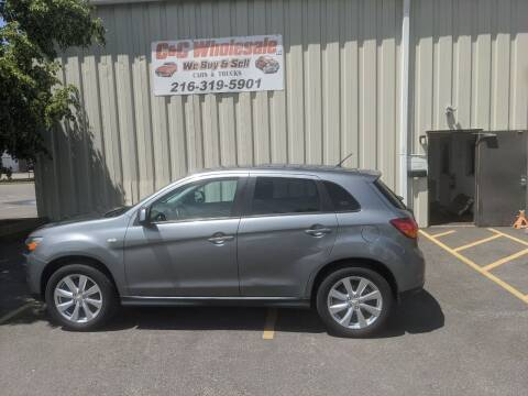 2015 Mitsubishi Outlander Sport for sale at C & C Wholesale in Cleveland OH
