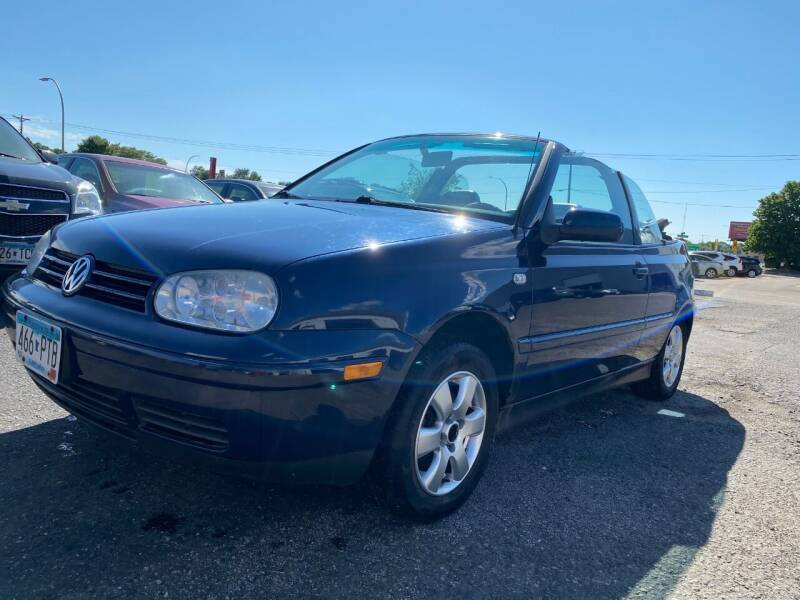 2001 Volkswagen Cabrio for sale at Auto Tech Car Sales and Leasing in Saint Paul MN