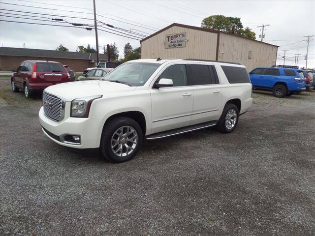 2015 GMC Yukon XL for sale at Terrys Auto Sales in Somerset PA