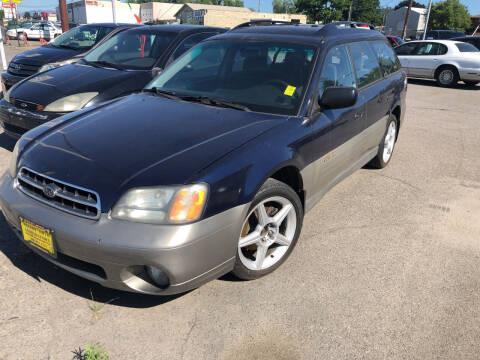 2001 Subaru Outback for sale at TTT Auto Sales in Spokane WA
