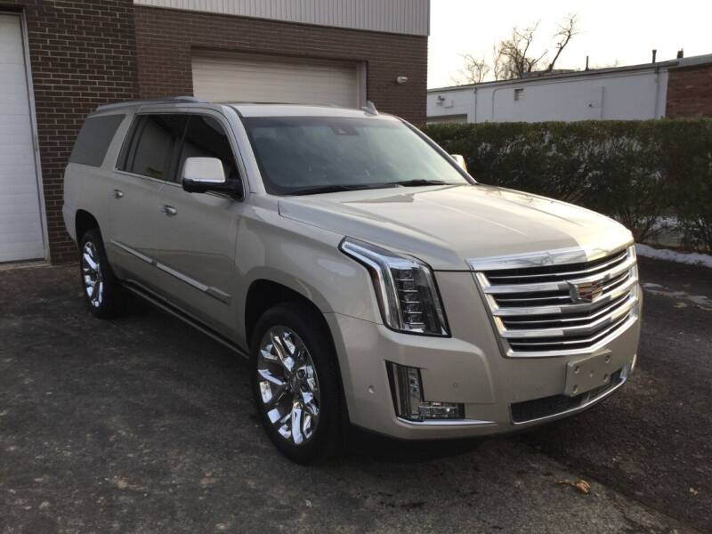 2017 Cadillac Escalade ESV for sale at International Motor Group LLC in Hasbrouck Heights NJ