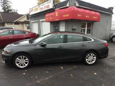 2017 Chevrolet Malibu for sale at Economy Motors in Muncie IN