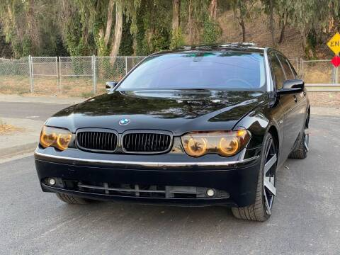 2004 BMW 7 Series for sale at ZaZa Motors in San Leandro CA