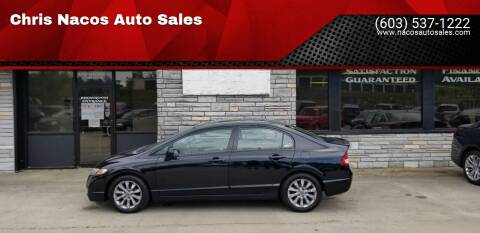 2009 Honda Civic for sale at Chris Nacos Auto Sales in Derry NH