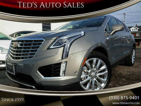 2019 Cadillac XT5 for sale at Ted's Auto Sales in Louisville OH