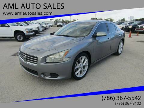 2009 Nissan Maxima for sale at AML AUTO SALES - Sedans/SUV's in Opa-Locka FL