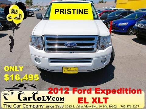 2012 Ford Expedition EL for sale at The Car Company in Las Vegas NV