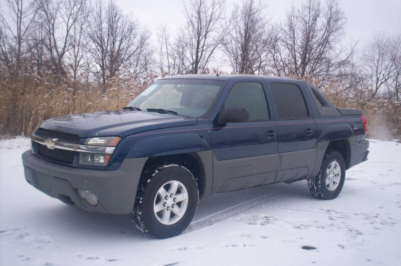 2002 Chevrolet Avalanche for sale at Action Auto Wholesale - 30521 Euclid Ave. in Willowick OH