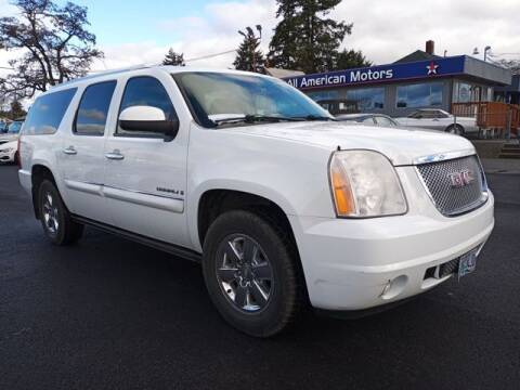 2008 GMC Yukon XL for sale at All American Motors in Tacoma WA