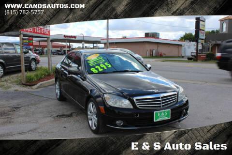 2008 Mercedes-Benz C-Class for sale at E & S Auto Sales in Crest Hill IL